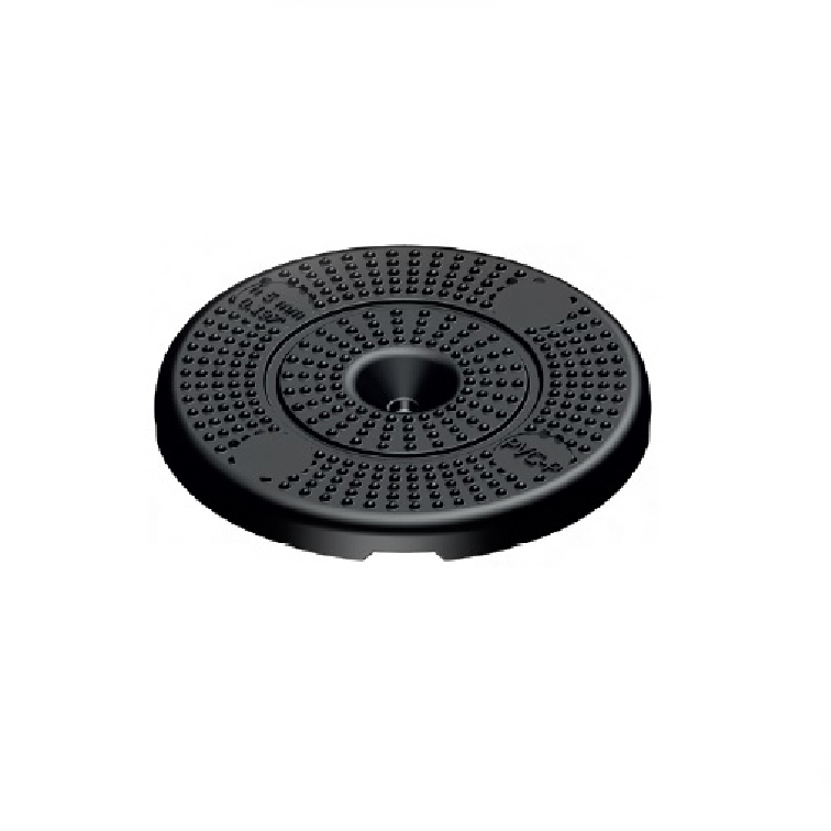 Mini timber decking rubber support pad
